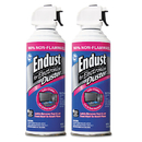 NORAZZA, INC. END248050 Compressed Gas Duster, 2 10oz Cans/pack