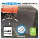 E.S. ROBBINS ESR132321 46x60 Rectangle Chair Mat, Multi-Task Series For Hard Floors, Heavier Use