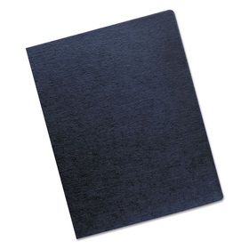 Linen Texture Binding System Covers, 11-1/4 X 8-3/4, Navy, 200/Pack, Price/PK