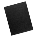 FELLOWES MANUFACTURING FEL52115 Linen Texture Binding System Covers, 11-1/4 X 8-3/4, Black, 200/pack