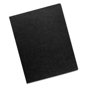 FELLOWES MANUFACTURING FEL52115 Linen Texture Binding System Covers, 11-1/4 x 8-3/4, Black, 200/Pack, Price/PK