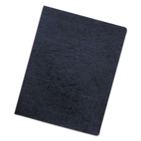 Executive Presentation Binding System Covers, 11-1/4 x 8-3/4, Navy, 50/Pack, Price/PK