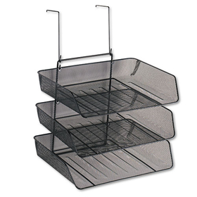 Mesh Partition Additions Three-Tray Organizer, 11 1/8 X 14 X 14 3/4, Black, Price/EA