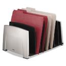 FELLOWES MANUFACTURING FEL8031801 File Sorter, 7 Comp, Plastic, 14 1/2 X 10 5/16 X 7 1/2, Black/silver