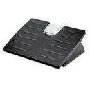 FELLOWES MANUFACTURING FEL8035001 Adjustable Locking Footrest W/microban, 17 1/2 X 13 1/8 X 5 5/8, Black/silver