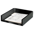 Fellowes FEL8038501 Designer Suites Desk Tray, Plastic, Black Pearl