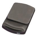 FELLOWES MANUFACTURING FEL91741 Gel Mouse Pad W/wrist Rest, Nonskid, 6 1/4 X 10 1/8, Platinum/graphite