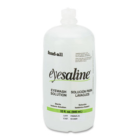 Fendall Eye Wash Saline Solution Bottle Refill, 32 Oz, Price/EA
