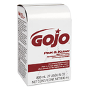 GO-JO INDUSTRIES GOJ912812CT Pink & Klean Skin Cleanser 800ml Dispenser Refill, Floral, 12/carton