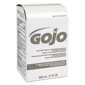 GO-JO INDUSTRIES GOJ921212EA Ultra Mild Lotion Soap w/Chloroxylenol Refill, Floral Balsam, 800mL