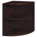 HON COMPANY HON105520NN 10500 Series Two-Shelf End Cap Bookshelf, 24w X 24d X 29-1/2h, Mahogany