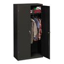 HON COMPANY HONSC1872S Assembled Storage Cabinet, 36w X 18-1/4d X 71-3/4h, Charcoal