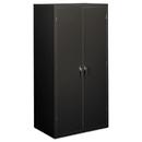 HON COMPANY HONSC2472S Assembled Storage Cabinet, 36w X 24-1/4d X 71-3/4h, Charcoal