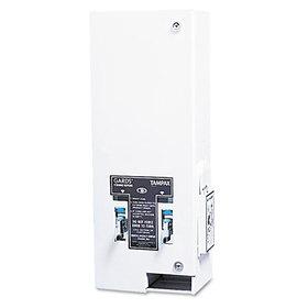 LAGASSE, INC. HOS125 Dual Sanitary Napkin/Tampon Dispenser, Coin-Op, Metal, 10 x 7 1/4 x 24, White, Price/EA