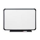 ICEBERG ENTERPRISES ICE37039 Ingenuity Dry Erase Board, Resin Frame With Tray, 36 X 24, Charcoal