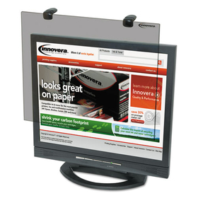 "Protective Antiglare LCD Monitor Filter,  Fits 19"" LCD Monitors, Price/EA"