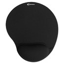 INNOVERA IVR50448 Mouse Pad W/gel Wrist Pad, Nonskid Base, 10-3/8 X 8-7/8, Black