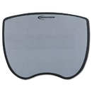 INNOVERA IVR50469 Ultra Slim Mouse Pad, Nonskid Rubber Base, 8-3/4 X 7, Gray