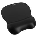 INNOVERA IVR51450 Gel Mouse Pad W/wrist Rest, Nonskid Base, 8-1/4 X 9-5/8, Black