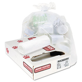 Heavy Grade Liners, 55 gal, 13 mic, 36 x 60, 8 Rolls of 25 Bags, 200/Carton, Price/CT