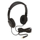 ACCO BRANDS KMW33137 Hi-Fi Headphones, Plush Sealed Earpads, Black