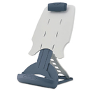 ACCO BRANDS KMW62058 Insight Adjustable Desktop Copyholder, Plastic, Holds 50 Sheets, Gray/dark Blue