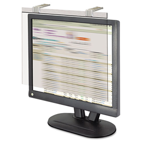 "LCD Protect Acrylic Monitor Filter w/Privacy Screen, 17"" Monitor, Silver, Price/EA"