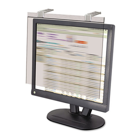 "KANTEK INC. KTKLCD20WSV LCD Protect Privacy Antiglare Deluxe Filter, 19""-20"" Widescreen LCD, Silver"