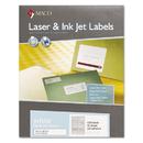 Maco MACMLFF31 Laser/inkjet White File Folder Labels, 2/3 X 3 7/16, White, 1500/box