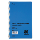 MEAD PRODUCTS MEA06544 Durapress Cover Notebook, College Rule, 6 X 9 1/2, White, 80 Sheets