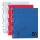 MEAD PRODUCTS MEA06548 Durapress Cover Notebook, College Rule, 8 1/2 X 11, White, 80 Sheets