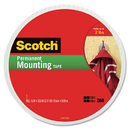 3M/COMMERCIAL TAPE DIV. MMM110LONG Foam Mounting Double-Sided Tape, 3/4