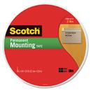3M/COMMERCIAL TAPE DIV. MMM110MR Foam Mounting Tape, 3/4