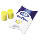 3M/COMMERCIAL TAPE DIV. MMM3101001 E A R Classic Earplugs, Pillow Paks, Uncorded, Pvc Foam, Yellow, 200 Pairs