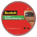 3M/COMMERCIAL TAPE DIV. MMM4011LONG Exterior Weather-Resistant Double-Sided Tape, 1