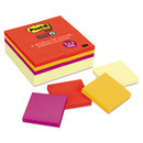 3M/COMMERCIAL TAPE DIV. MMM65424SSCYN Note Pads Office Pack, 3 X 3, Canary Yellow/marrakesh, 90-Sheet, 24/pack