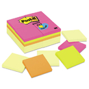 3M/COMMERCIAL TAPE DIV. MMM654CYP24VA Original Pads Value Pack, 3 X 3, Canary Yellow/cape Town, 100-Sheet, 24 Pads
