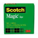 3M/COMMERCIAL TAPE DIV. MMM810121296 Magic Tape, 1/2