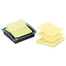 3M/COMMERCIAL TAPE DIV. MMMDS440SSVP Pop-Up Note Dispenser/value Pack, 4 X 4 Self-Stick Notes, Black/clear