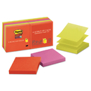 3M/COMMERCIAL TAPE DIV. MMMR33010SSAN Pop-Up 3 X 3 Note Refill, Marrakesh, 90-Sheet, 10/pack
