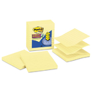 3M/COMMERCIAL TAPE DIV. MMMR440YWSS Pop-Up Notes Refill, Lined, 4 X 4, Canary Yellow, 90-Sheet, 5/pack
