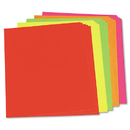 PACON CORPORATION PAC104234 Neon Color Poster Board, 28 X 22, Green/pink/red/yellow, 25/carton