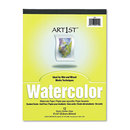 PACON CORPORATION PAC4910 Artist Watercolor Paper Pad, 9 X 12, White, 12 Sheets