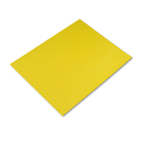 PACON CORPORATION PAC54721 Colored Four-Ply Poster Board, 28 X 22, Lemon Yellow, 25/carton