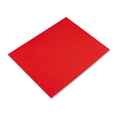 PACON CORPORATION PAC54751 Colored Four-Ply Poster Board, 28 X 22, Red, 25/carton