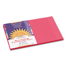 PACON CORPORATION PAC6007 Construction Paper, 58 Lbs., 12 X 18, Scarlet, 50 Sheets/pack