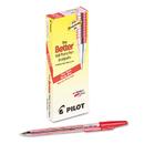 PILOT CORP. OF AMERICA PIL37011 Better Ball Point Stick Pen, Red Ink, .7mm, Dozen