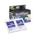ADVANTUS CORPORATION REARR1233 Keywipes Keyboard & Hand Cleaner Wet Wipes, 5 X 6 7/8, 18/box