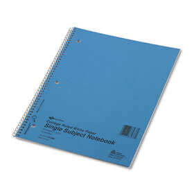 Subject Wirebound Notebook, College/Margin Rule, Ltr, WE, 50 Sheets/Pad, Price/EA