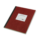REDIFORM OFFICE PRODUCTS RED43648 Computation Book, Quadrille Rule, 9 1/4 X 11 3/4, Green, 75 Sheets